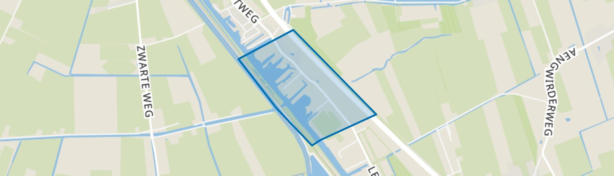 Nieuwebrug, Heerenveen map
