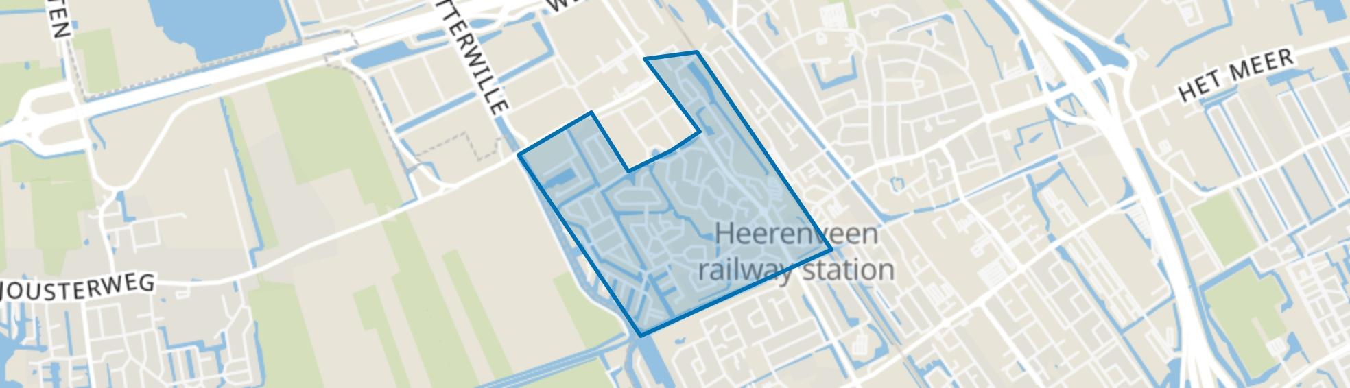 Nijehaske, Heerenveen map