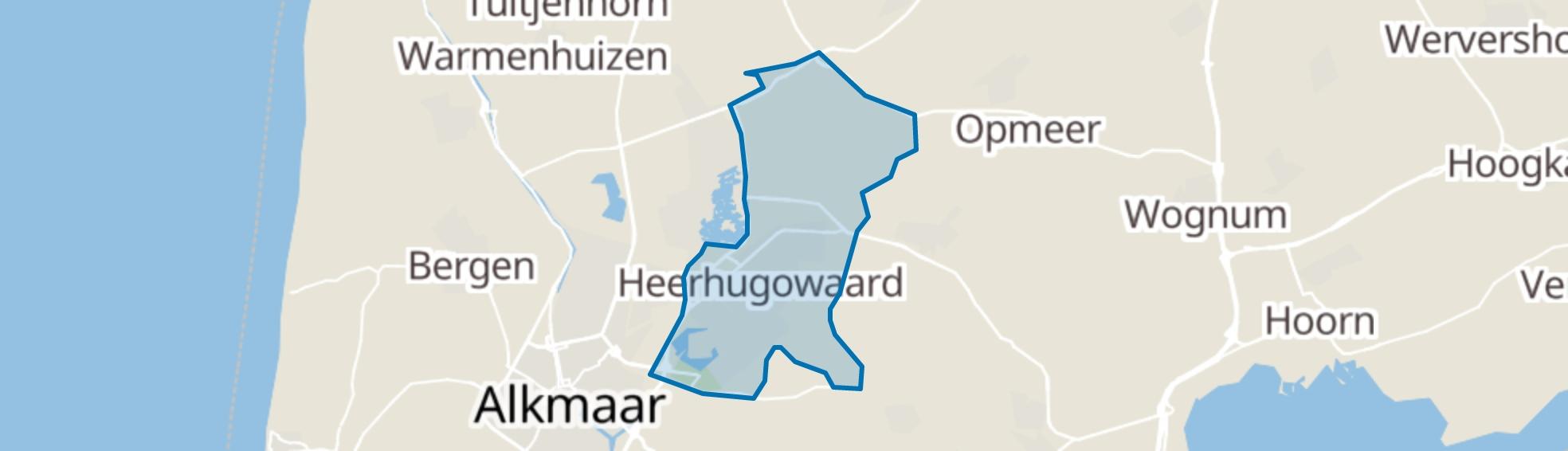 Heerhugowaard map