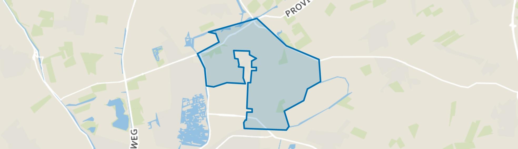 Buitengebied Noord, Heerhugowaard map