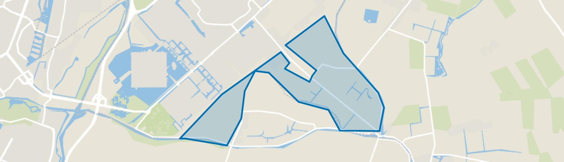 Buitengebied Zuid, Heerhugowaard map