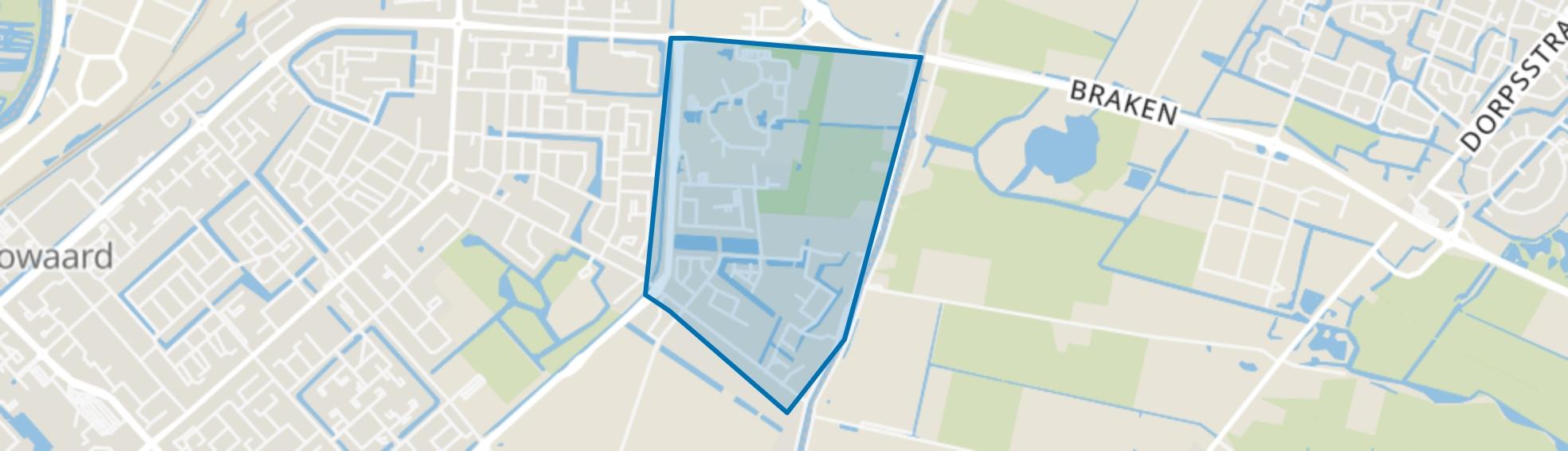 De Draai Midden, Heerhugowaard map