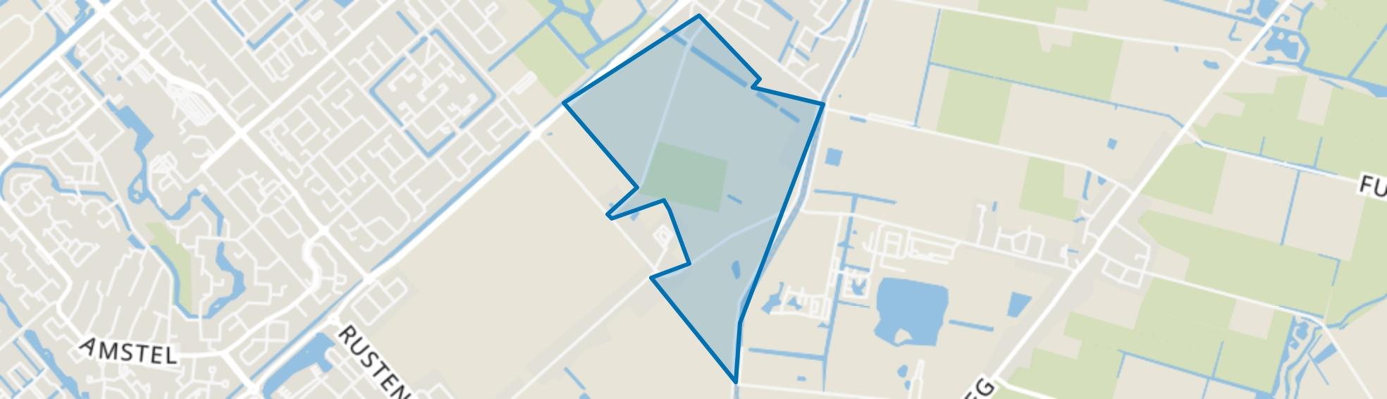 De Draai Zuid, Heerhugowaard map