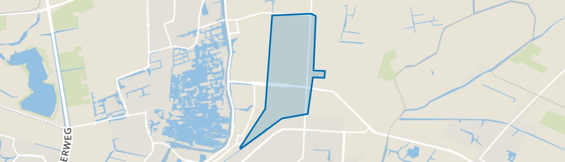 De Vaandel, Heerhugowaard map