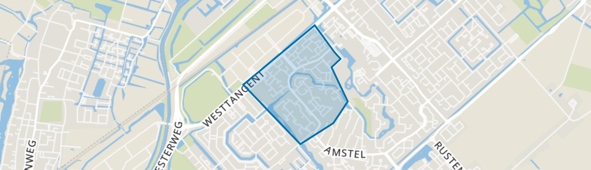 Edelstenenwijk, Heerhugowaard map
