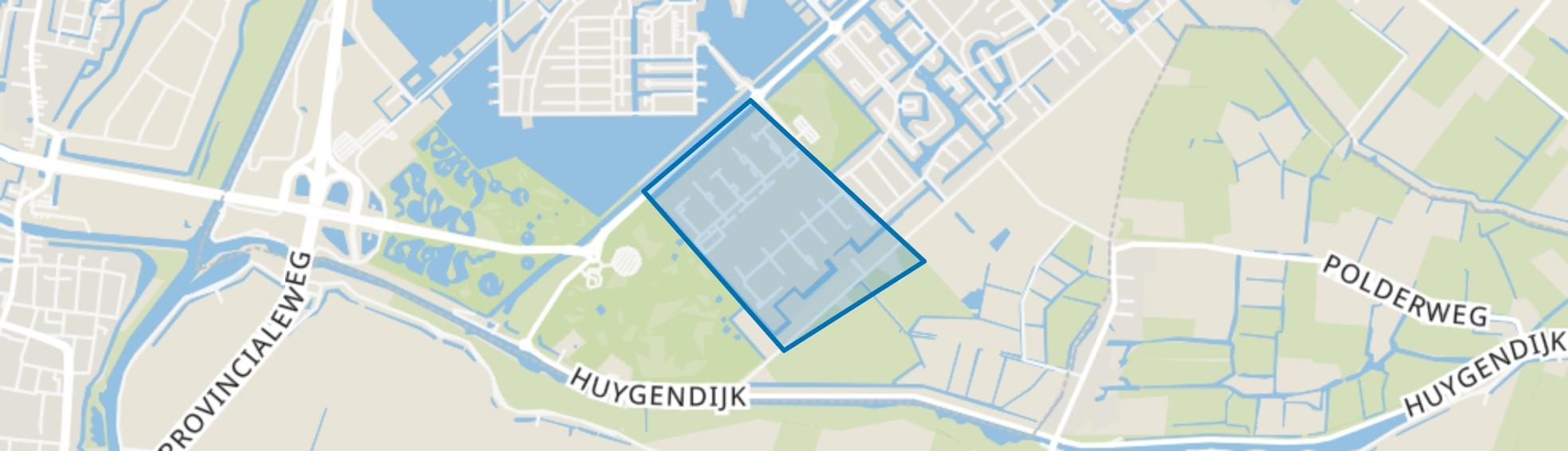 Huygenhoek 3, Heerhugowaard map