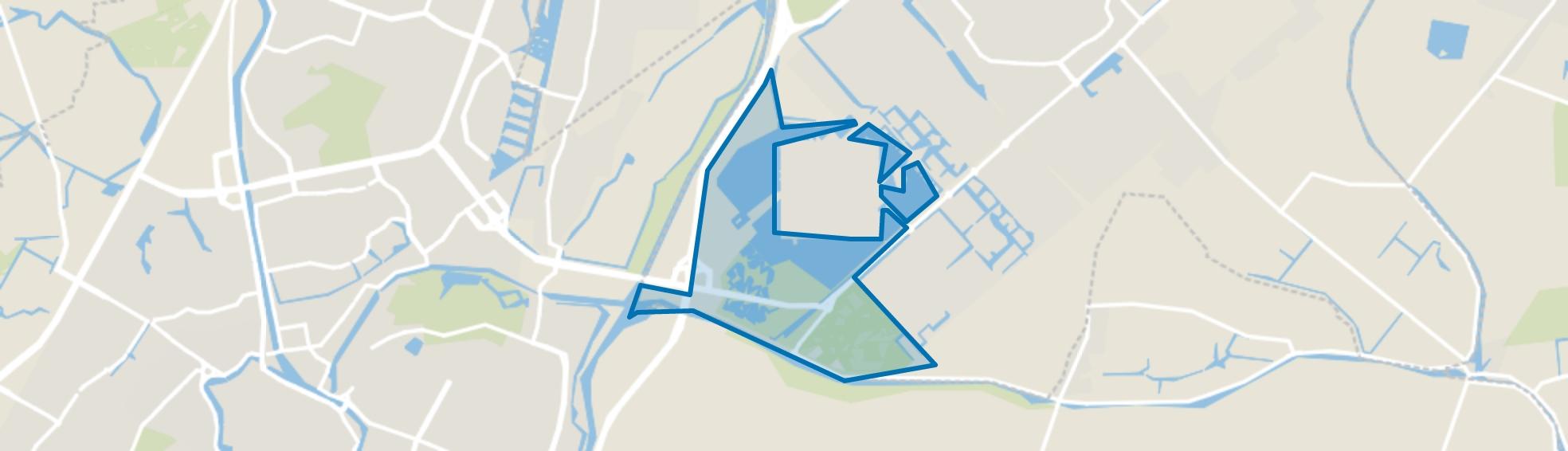 Park van Luna, Heerhugowaard map