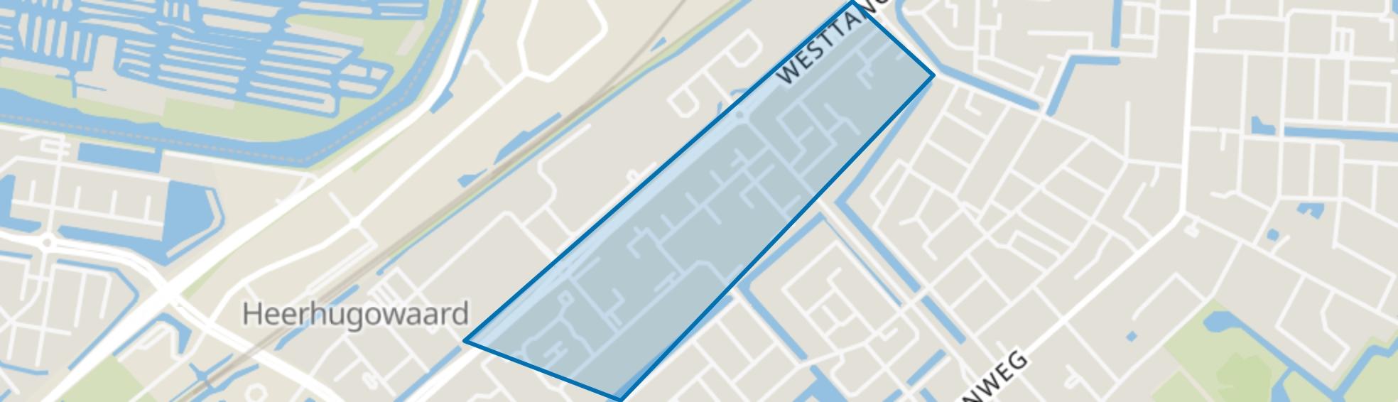 Planetenwijk, Heerhugowaard map