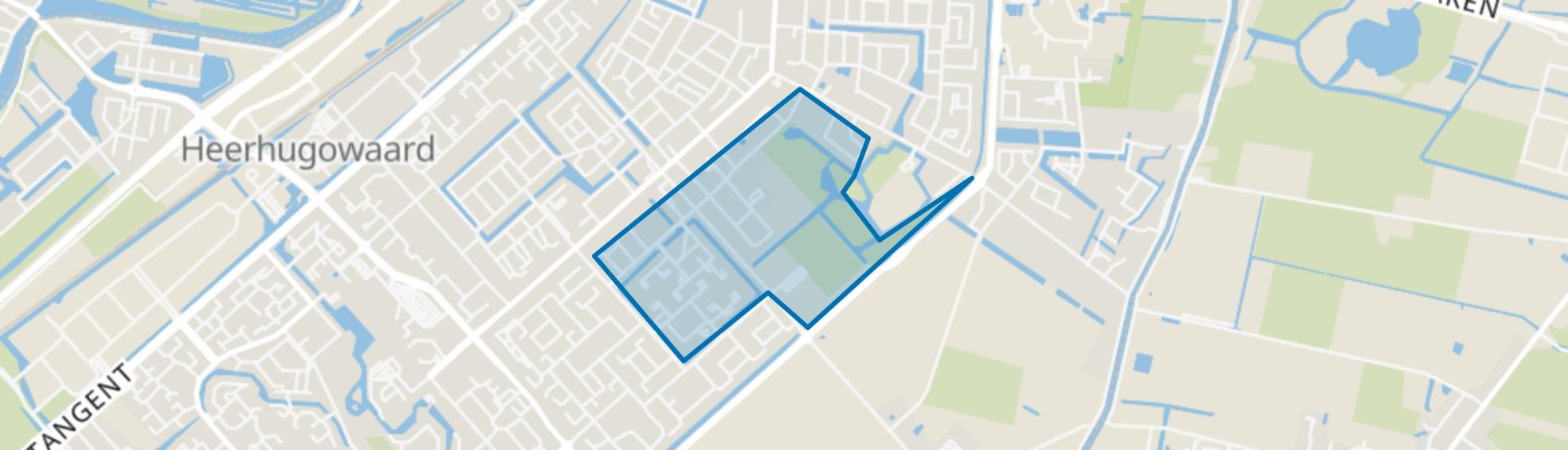 Recreatiebuurt, Heerhugowaard map