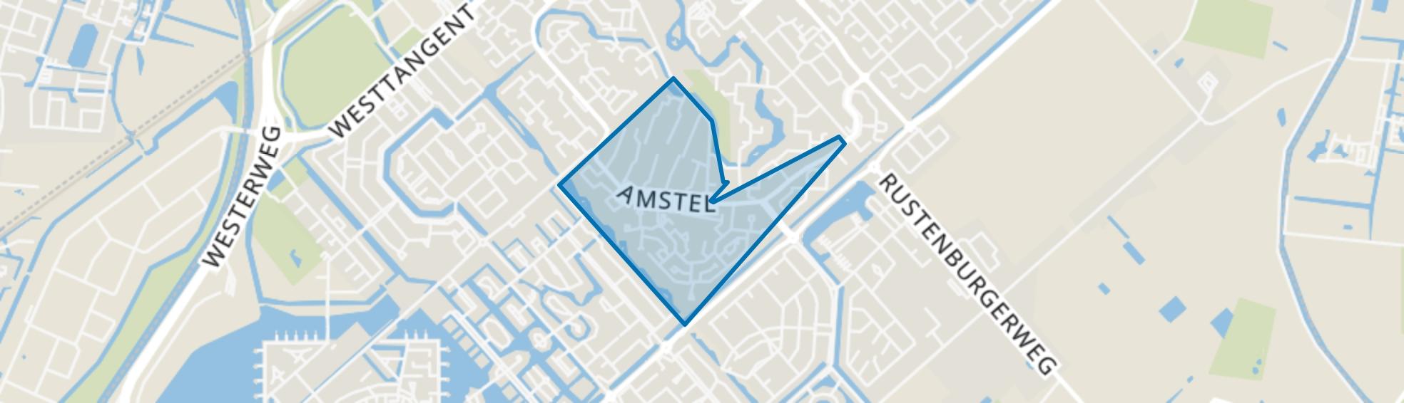 Rivierenwijk, Heerhugowaard map