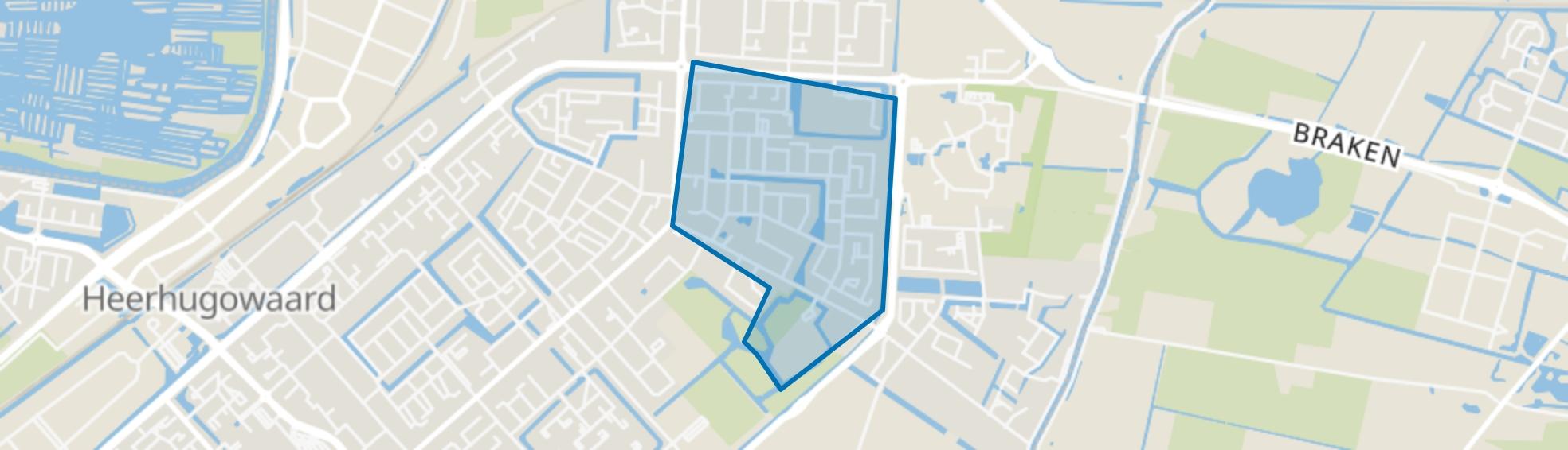 Schilderswijk 2, Heerhugowaard map