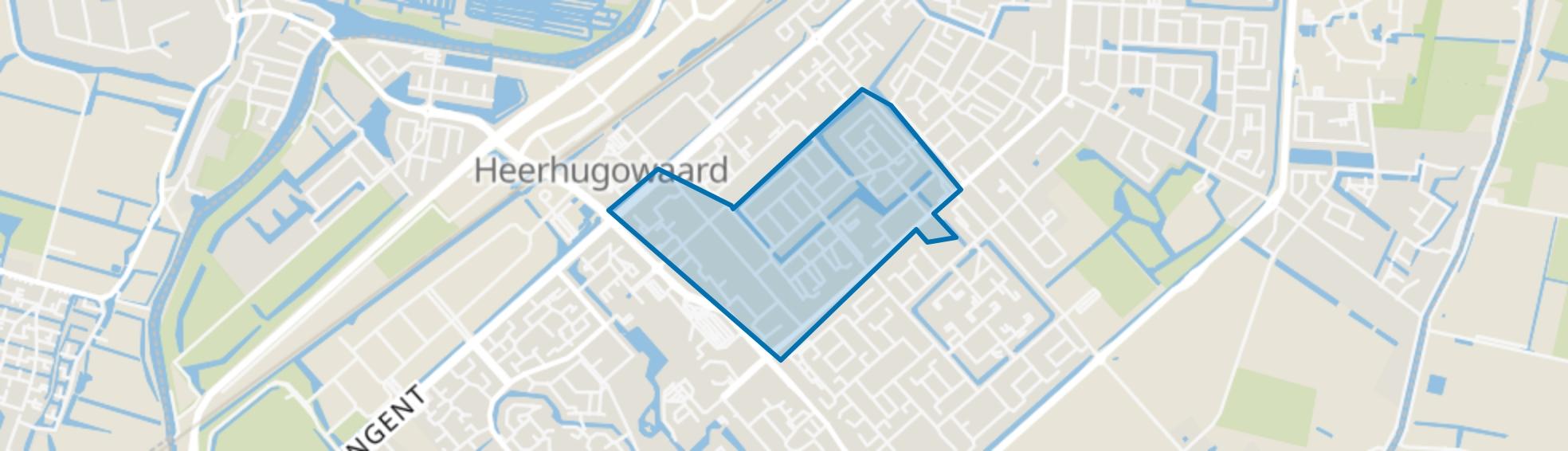 Schrijverswijk, Heerhugowaard map