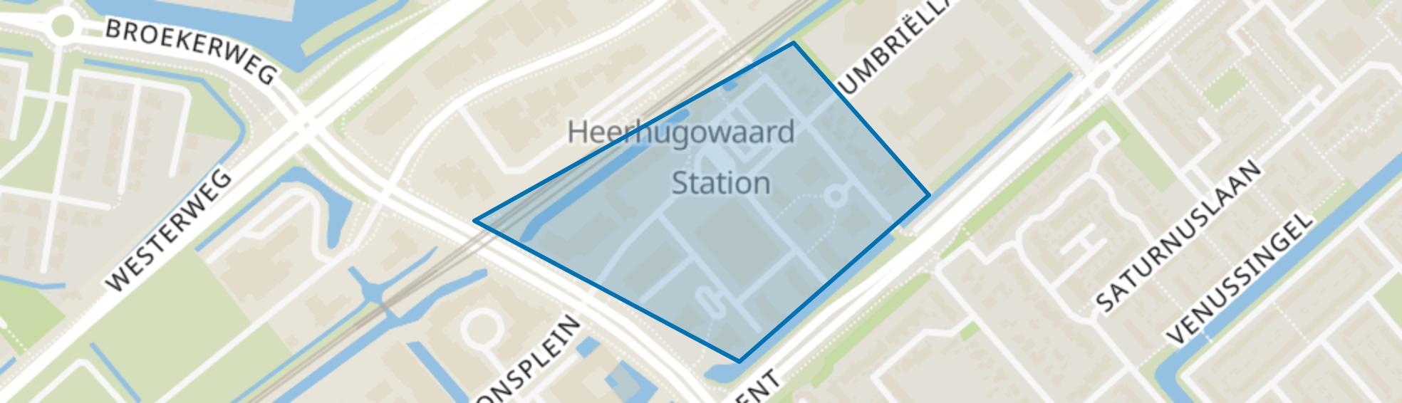 Stationsplein, Heerhugowaard map