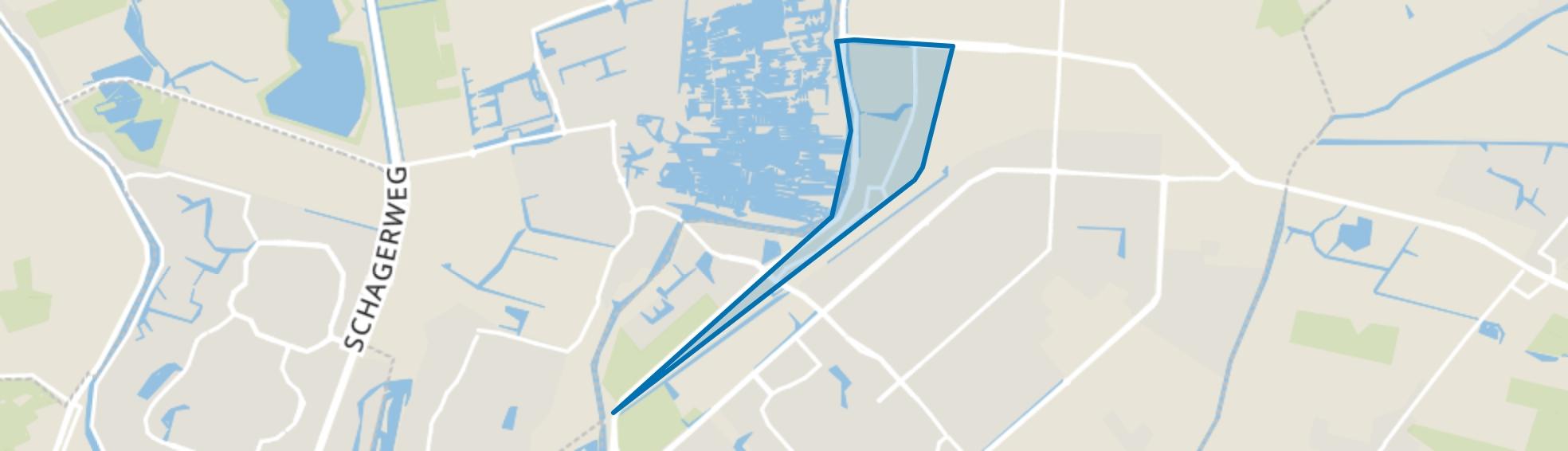 Zandhorst 1, Heerhugowaard map