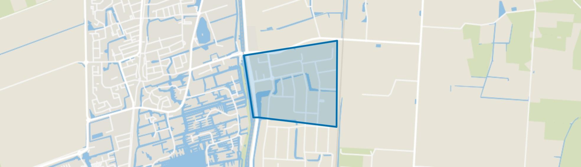 Zandhorst 3, Heerhugowaard map