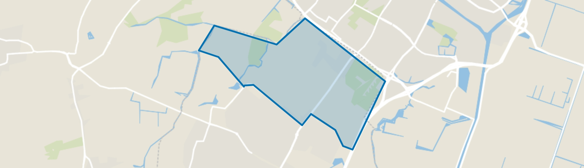 Blockhovepark, Heiloo map