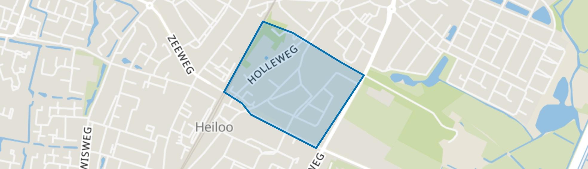 Gemeentebos, Heiloo map