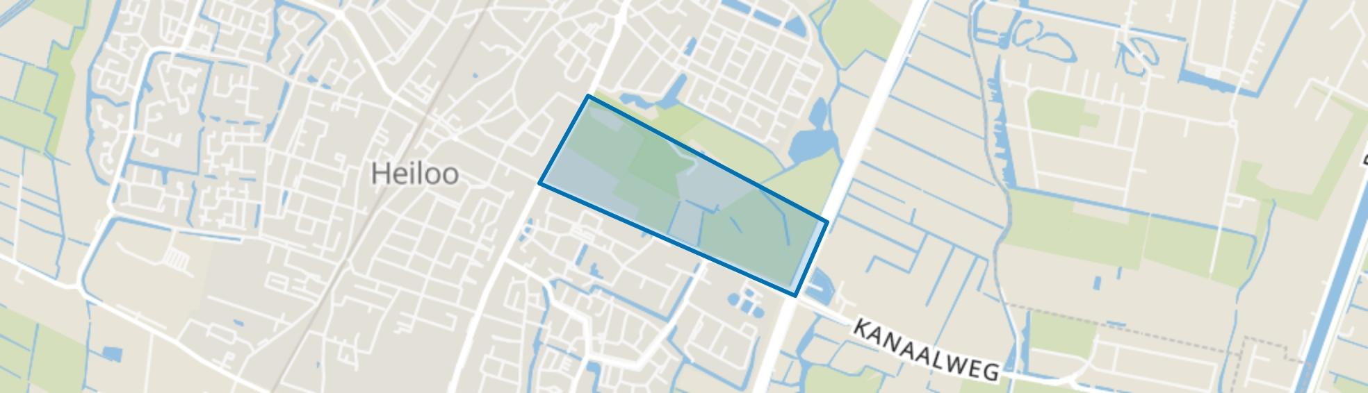 Nijenburg, Heiloo map