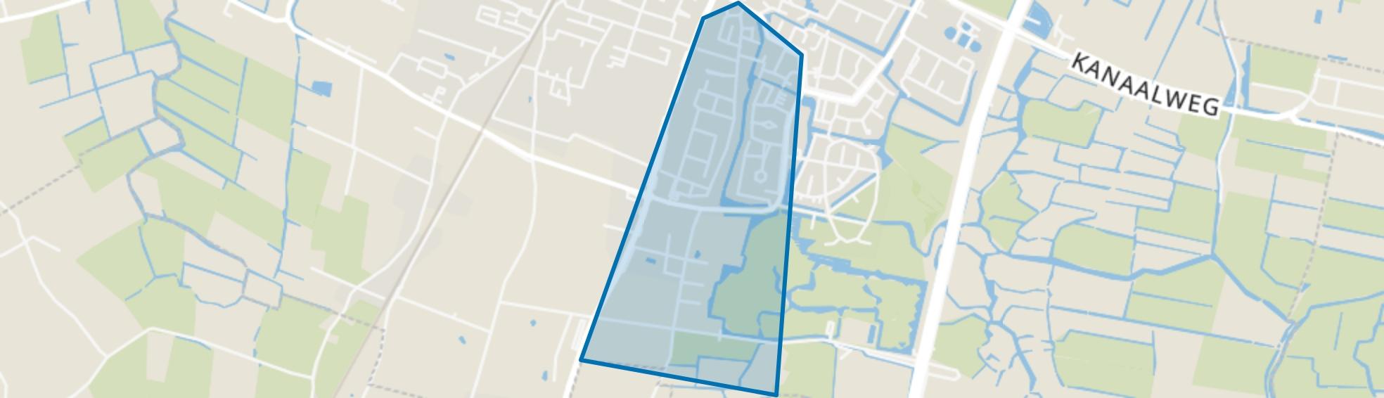 Oosterzij, Heiloo map