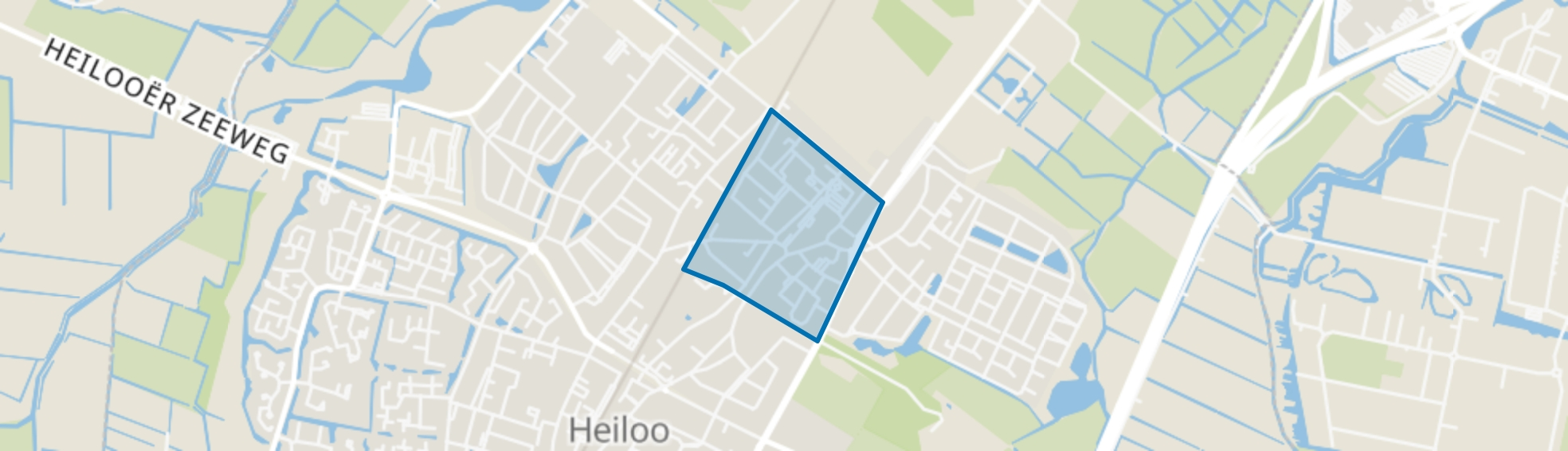 Tuindorp, Heiloo map