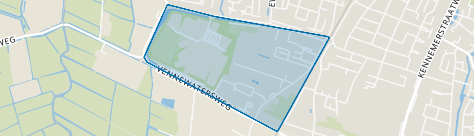 Vennewater, Heiloo map