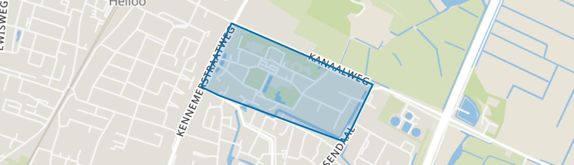 Willibrord, Heiloo map