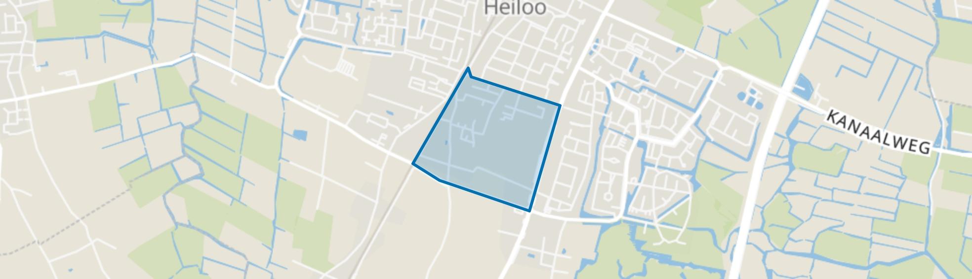 Zuiderloo, Heiloo map