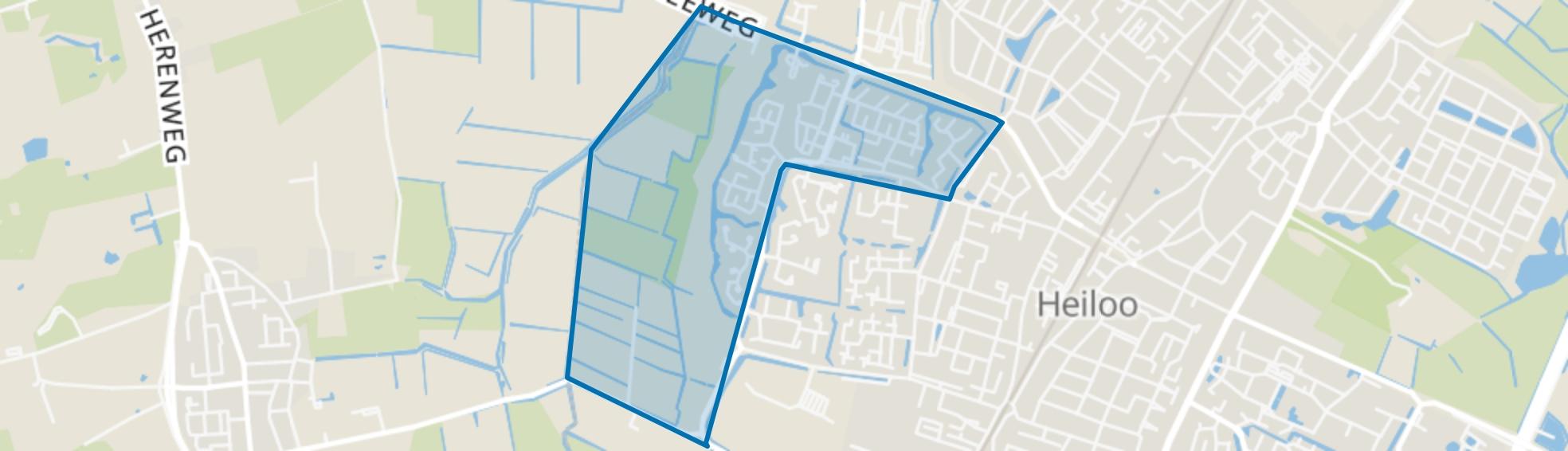 Zuiderneg, Heiloo map