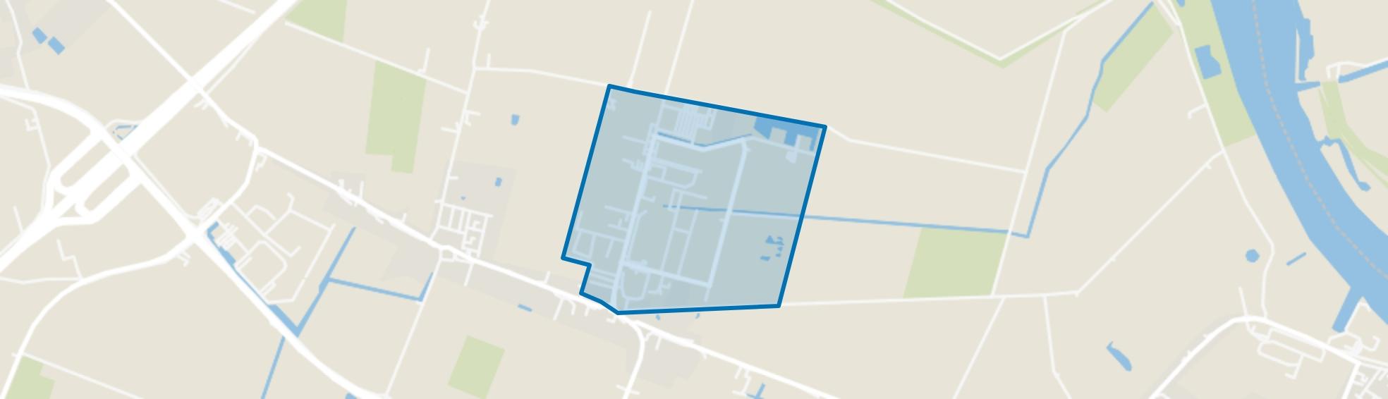 Heinenoord Bedrijvenpark Hoeksche Waard, Heinenoord map