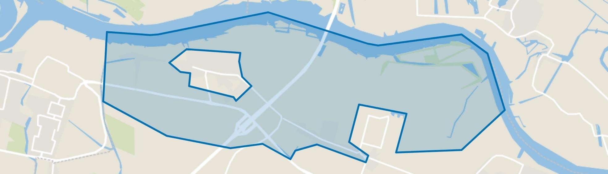 Heinenoord Buitengebied, Heinenoord map