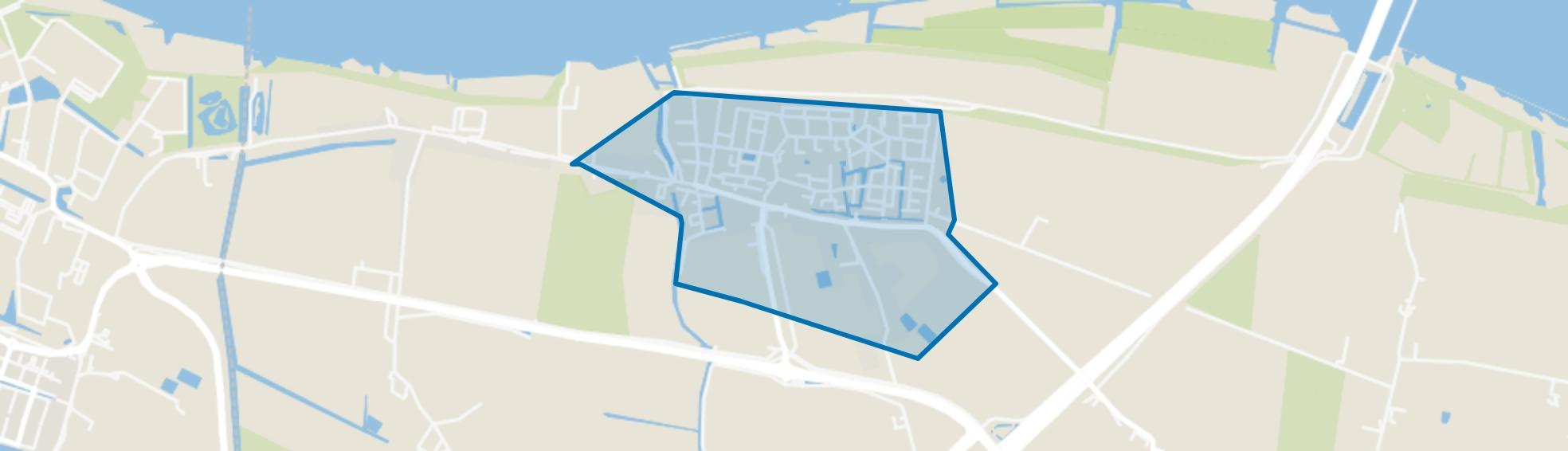 Heinenoord Woonkern, Heinenoord map