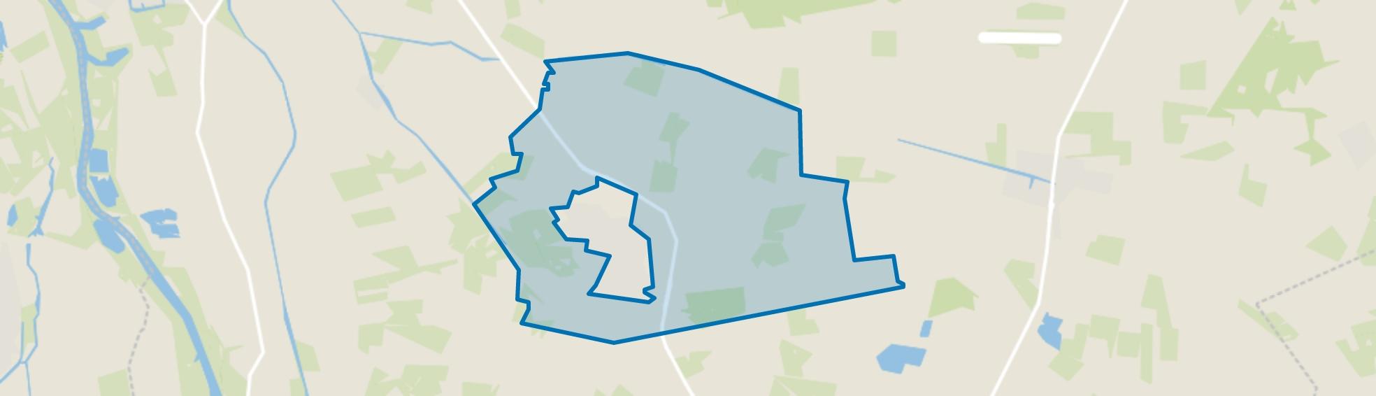 Buitengebied Heino, Heino map