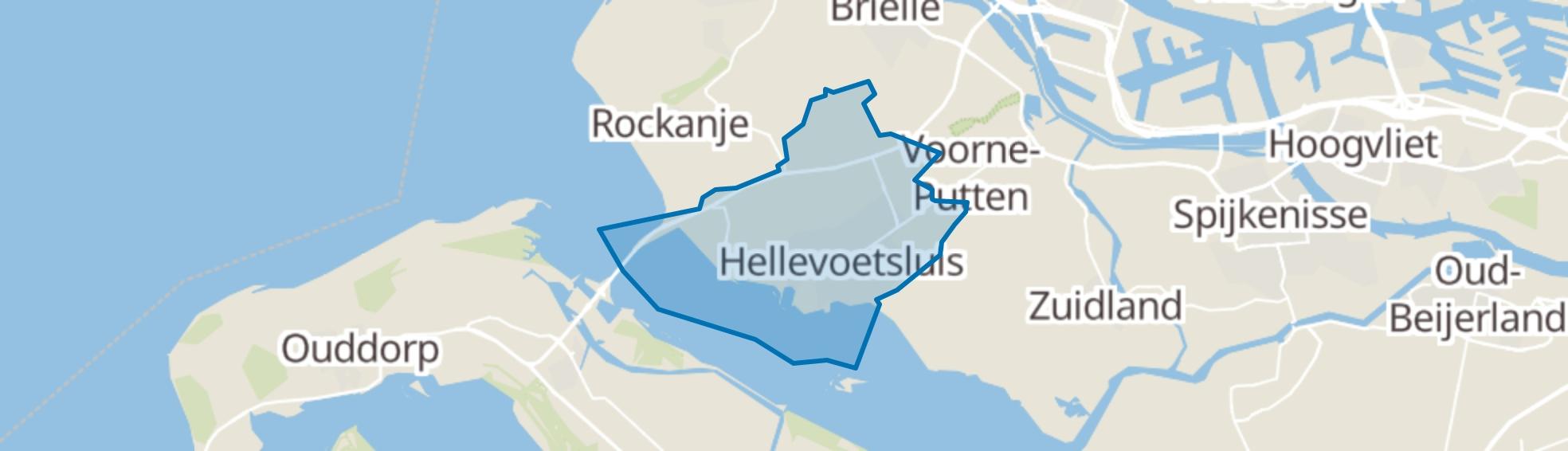 Hellevoetsluis map