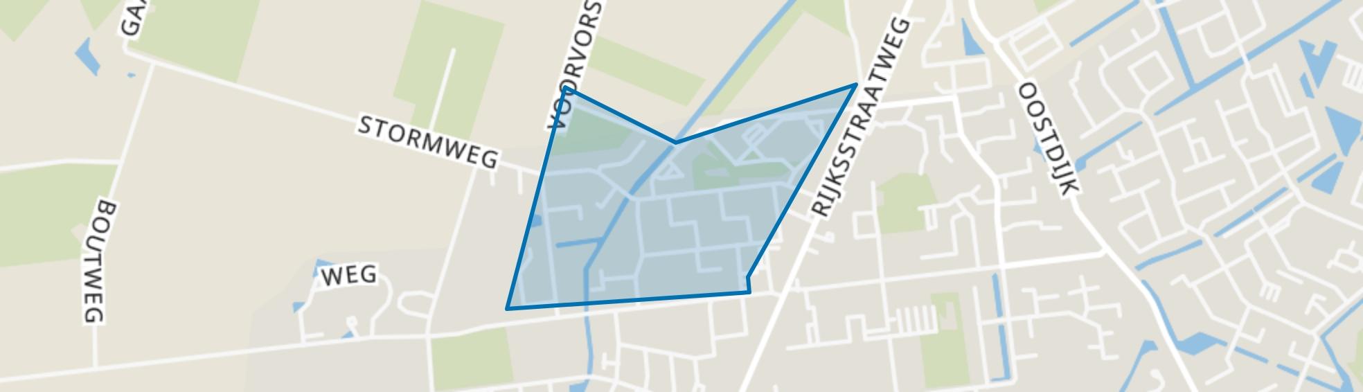 Bloemen- en Plantenbuurt, Hellevoetsluis map
