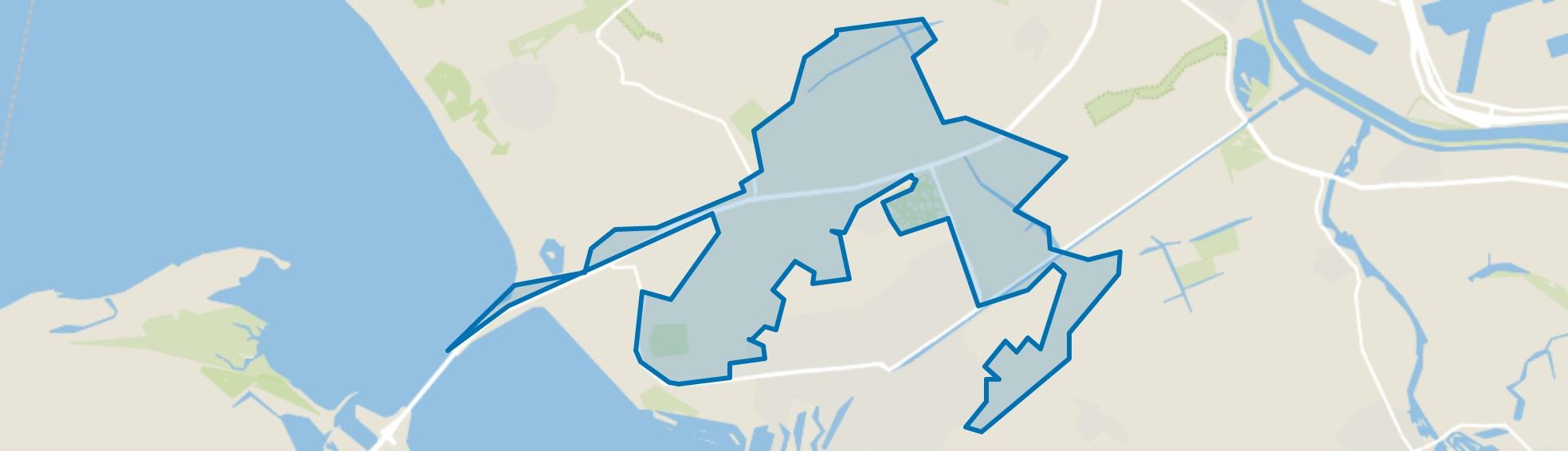 Buitengebied, Hellevoetsluis map
