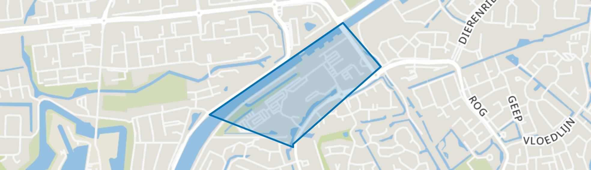 Centrumgebied-Oost, Hellevoetsluis map