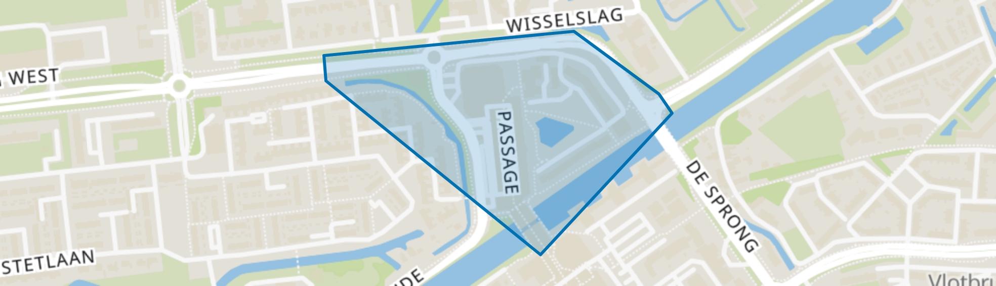 Centrumgebied-West, Hellevoetsluis map