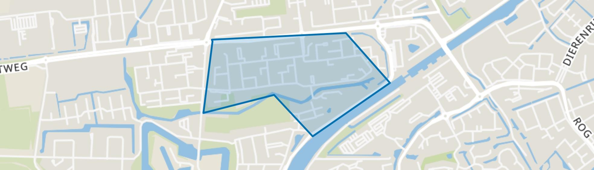 Dichters- en Schrijversbuurt, Hellevoetsluis map