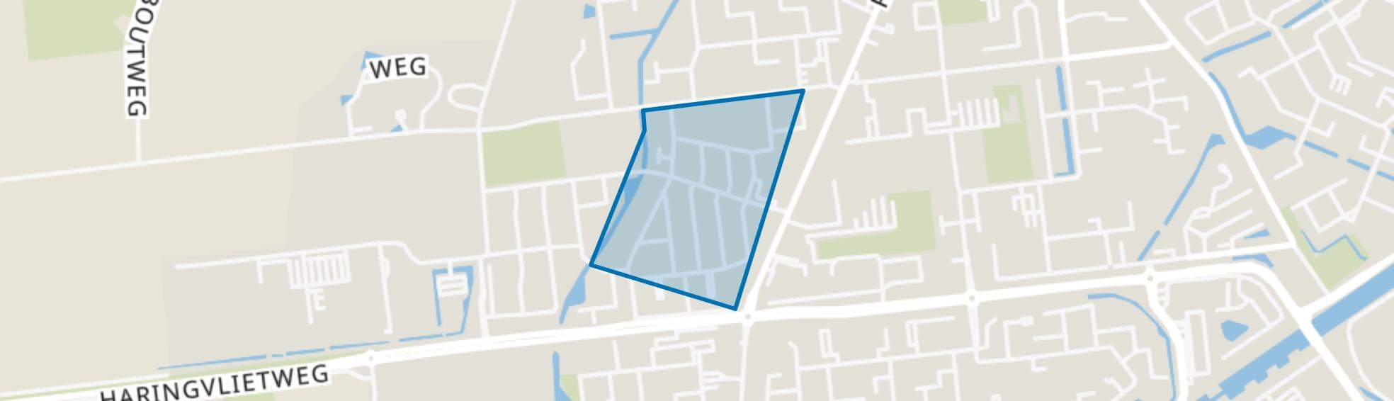 Dorp en Hoonaart, Hellevoetsluis map