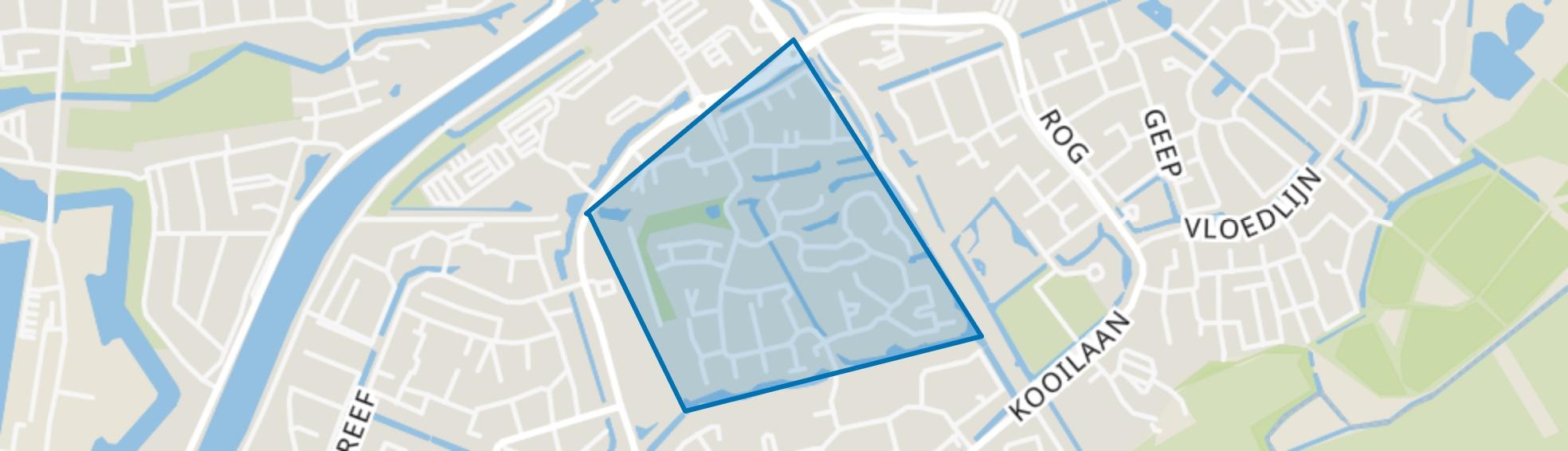 Hooghen Hoeck, Hellevoetsluis map