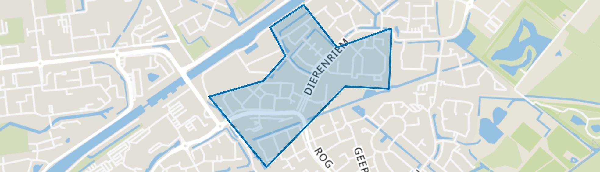 Koele Nacht, Hellevoetsluis map