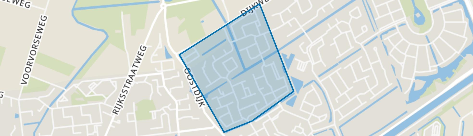 Kruis Hoeffe, Hellevoetsluis map