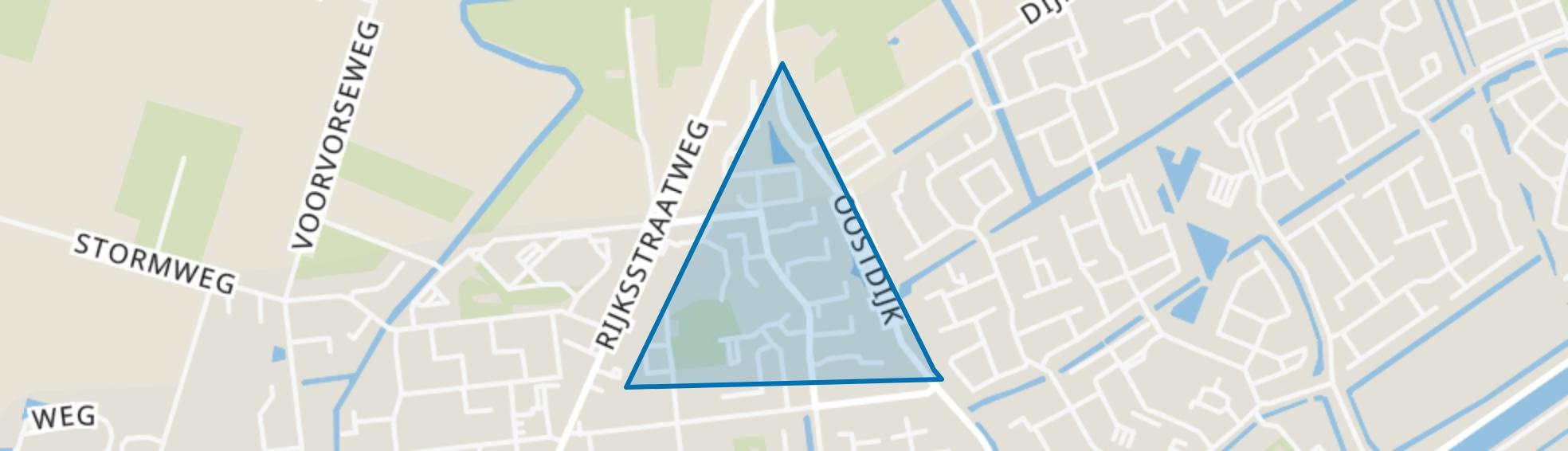 Kulck-Noord, Hellevoetsluis map