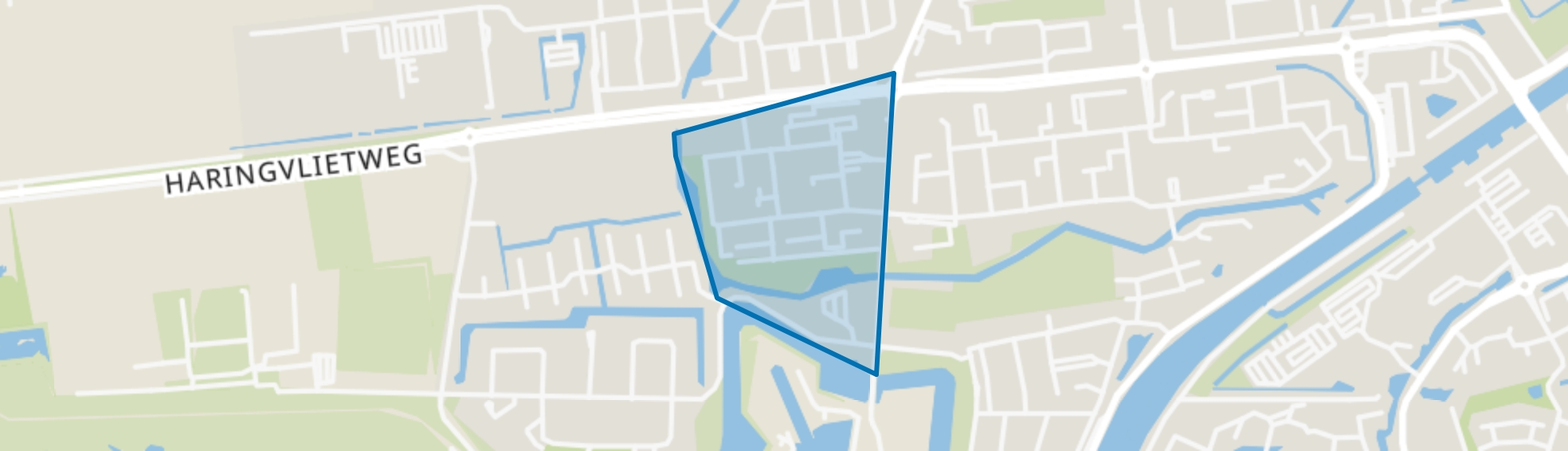 Marinebuurt, Hellevoetsluis map