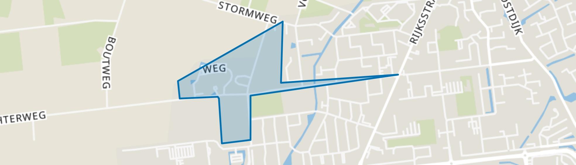 Nieuw-Helvoet, Hellevoetsluis map