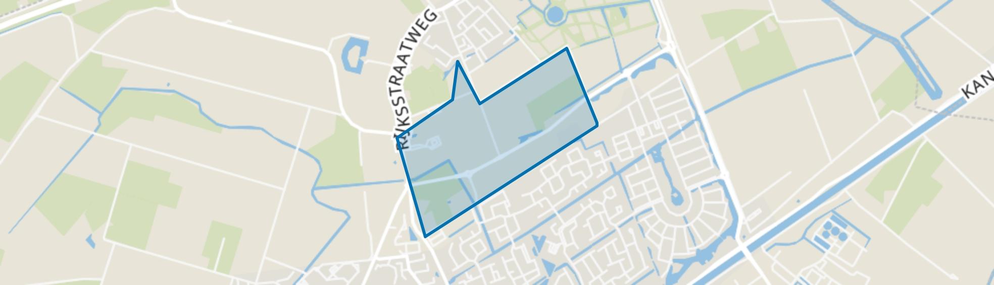 't Lange Land, Hellevoetsluis map