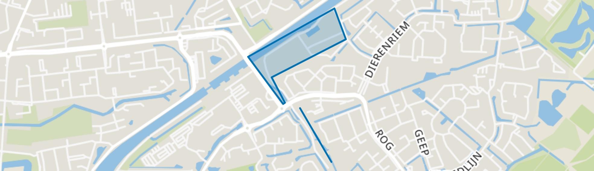 Vlotbrug, Hellevoetsluis map