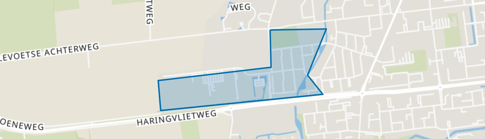 Vogelbuurt, Hellevoetsluis map