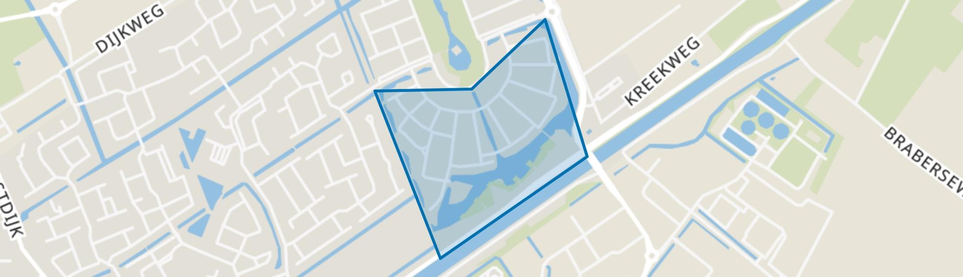 Wagenzicht, Hellevoetsluis map