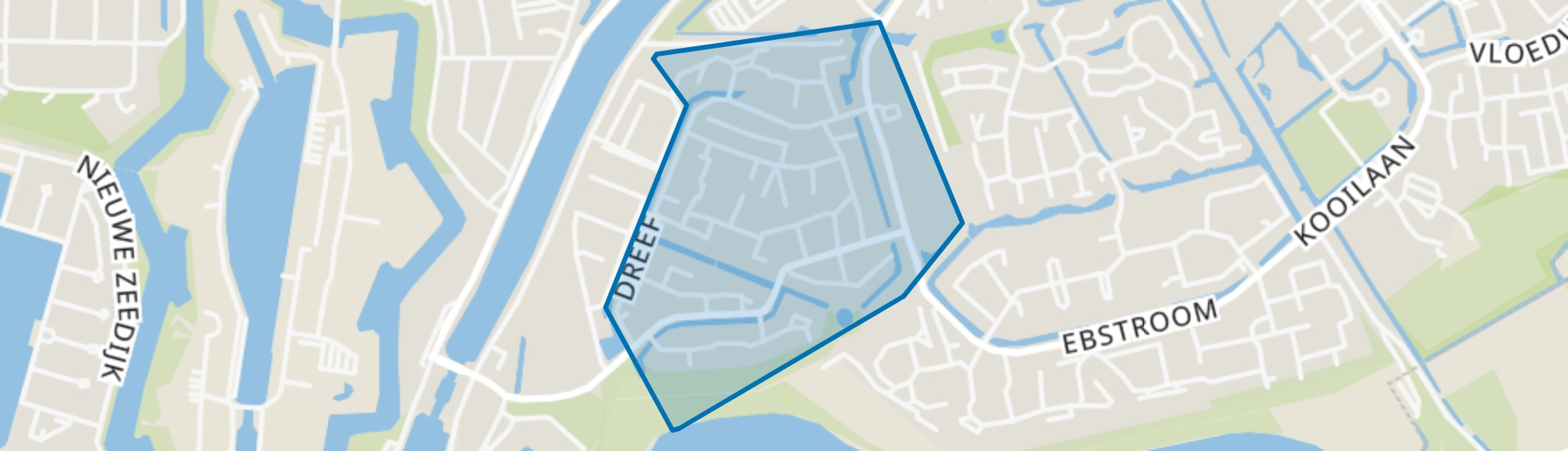 Wittens Hoeck, Hellevoetsluis map
